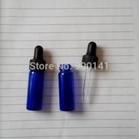 Cobalt blue 15*45MM 4ml glass vial with dropper, 1 dram glass vials, glass bottles, 24pcs