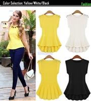 Blouses Women 2015 Spring Summer Elegant Shirts For Women New Style Sleeveless Lace Blouses Women Plus Size Blusa Renda S~XL