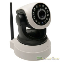 1280*720P 1.0MP  Wireless P2P Plug and Play Night Vision Pan/Tilt Two Way Audio Wifi IP Camera support max 32GB TF card
