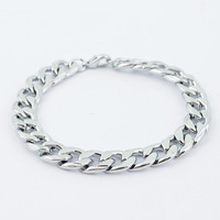 wholesale men titanium steel bracelet with beads hot sale men jewelry high quality male bracelet free shipping ARSL-L0027
