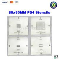 Free ship!  80x 80mm PS4 Stencil CXD90025G, CXD90026G, K4G41325FC GDDR5 RAM, K4B2G1646E DDR3 SDRAM for BGA reballing