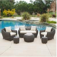 2014 Hot Sale Rattan Outdoor Garden 6pc Sofa Seating Set