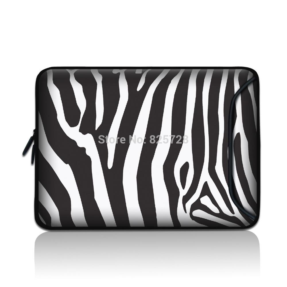Zebra Print Kindle Fire Case Zebra Print Sleeve Bag Case w/
