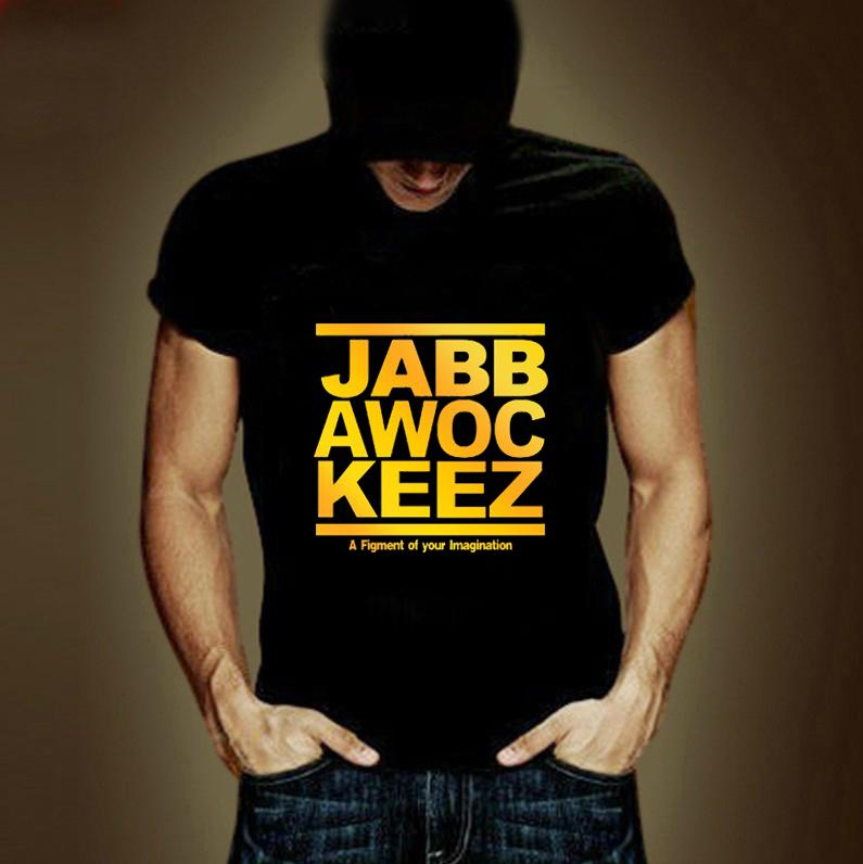 2014 moda Top venda homens T-shirt verão mulheres marca T Tops de manga curta Jabbawockeez T camisas grátis frete(China (Mainland))