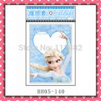 Free Shipping Blue Frozen Princess passport holders 100pcs/lot passport covers Card holders