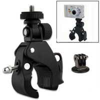 GoPro Accessory Quick Clip Bicycle Bike Mount with Tripod Adaptor for Hero1 2 3 3+ Cameras DV