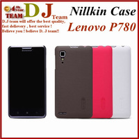 Genuine Nillkin P780 Super Frosted Hard Case For Lenovo P780 Case Shield Shell +Screen Protector Free Shipping