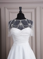 New Arrival Custom Made Crystals Wedding Wrap Bridal Wrap(7001)