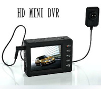 Mini DVR, Built-in 256MB Flash Memory, Supports Extra SD Card Up to 32GB