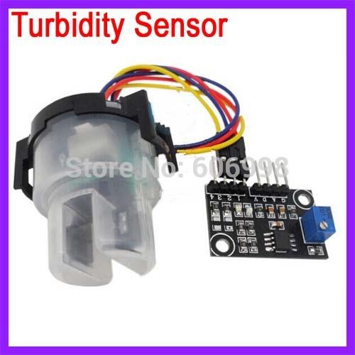 5pcs lot Turbidity Sensor Liquid Suspended Particles Turbidity Value Detection Module Suite