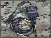 Original Military Tactical PTT Cheap Earphone Accessories C4 OPS Intercom PTT EM8960 FREE SHIPPING