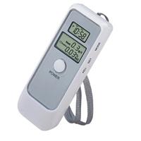 Digital Alcohol Breath Tester with Dual LCD display Analyzer Breathalyzer Portable Professional Top Sale