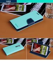 G2 mini D618 mercury Case, Korean Original MERCURY Goospery Color Shock Leather Case for LG G2 mini D620 + freeship