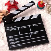 New Director Video Scene Clapperboard TV Movie Clapper Board Film Cut Prop Tonsee