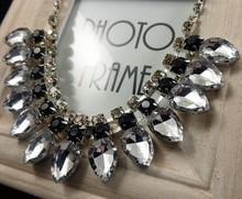 Water drop  false collar short necklace/korean luxury brand jewelry for women accessories wholesale/maxi colar/collier/bijoux