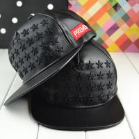 wholesale leather star snapbacks caps hip hop baseball cap snapback hats for women men 2014 new M42