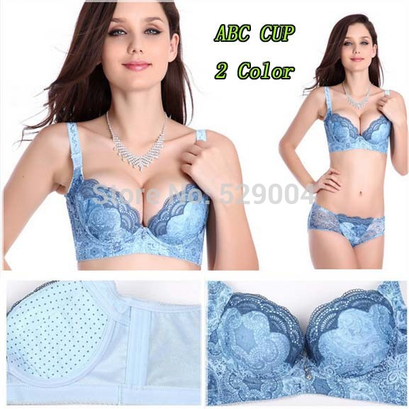Push up bra Breathable Side Support soft balls Massage bra women's sexy cotton bra lace intimate underwear brassiere A B C cup(China (Mainland))