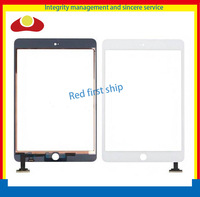20Pcs/lot For Ipad Mini Touch Screen Digitizer Glass Panel Without IC Black Or White Free Shipping By DHL EMS