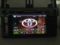 8INCH TOYOTA prado 2014 HD dvd player (3G WIFI / CAN BUS optional) ipod gps sd usb mp3/4 FM/AM BT free 4gb map camera