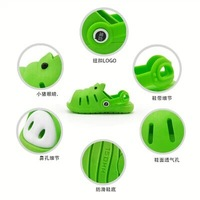 baby slippers Shote shoes is slip-resistant shoes/child slippers/summer sandals little pig shoes