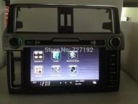 TOYOTA Land cruiser prado  2014 HD dvd player (CAN BUS optional) 3G WIFI  ipod gps sd usb mp3/4 FM/AM BT free 4gb map camera