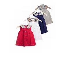 New 2014 Girl brand clothing set girls dress children summer clothes 2-7Y