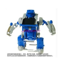 who obediently new educational solar toys triple sun deformation robot 3 in 1