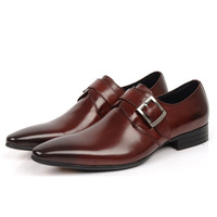 In 2 Color 2014 New Fashion Designer Brand Italian Formal Oxford Genuine Leather Men's Dress Skin Sneakers Shoes For Men MGS231