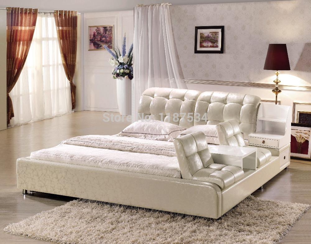 Slaapkamers Ontwerp Metalen Bedden : Bedroom Furniture King Size Bed