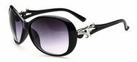 2014 Women's Brand Design Black, Brown, White, Leopard Plastic Sunglasses