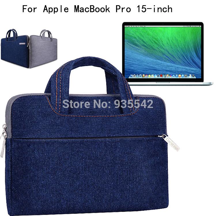 Сумки для ноутбуков и Чехлы Cartinoe Apple MacBook Pro 15.4' , Cartinoe Jeans series