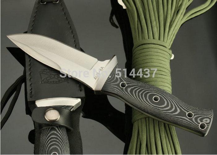 HOT Y START OEM WALTER BREN DORADO FIXED BLADE KNIFE HUNTING KNIFE RESCUE CAMPING tool Outdoor