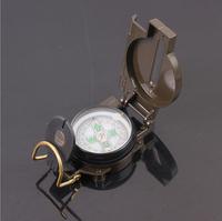 Outdoor multifunction Aluminum shell paint compass