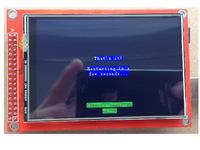 Arduino1 ATMEGA 2560 35 inch LCD Display Screen Mega2560 Shield Accessory extension board diy development kit mega atmega robot