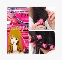 6 Pcs Hairstyle DIY Bendy Hair Styling Roller Foam Curler Stick Spiral Curls Tool