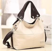 The new 2015 shoulder bag han edition Single restoring ancient ways is inclined Large capacity(China (Mainland))