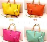 The Promotion Freeshipping Medium(30-50cm) Interior Slot Pocket Zipper Soft New 2014 Vintage Leather Messenger Bag Women Handbag