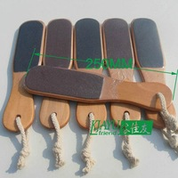Good quality! Eco-Friendly Material! Wholesale & Retail Wooden Double Side Foot Rasp File Callus Remover Pedicure Tool 2pcs/lot