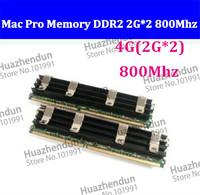 2pcs Mac Pro 1,1 2,1 3,1 MACPRO MEMORY DDR2 800 FB-Dimm 4GB (2GBx2) DDR2 PC2-6400 ECC DDR2 800Mhz