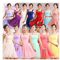Free shipping new arrival short dress bridesmaid dresses sisters dress small formal attire wedding evening dresses YF031