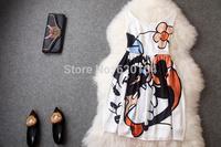 2014 original design new fashion women's summer wear top slim elegance party dress T1829
