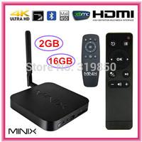 MINIX NEO X8-H 4.4.2 Android TV Box Amlogic S802-H Quad Core Mini PC  2G RAM 16G WiFi HDMI Bluetooth XBMC Smart TV Receiver+ M1