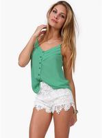 free shipping! new 2014 Hot-selling women slim sexy spaghetti strap basic vest female summer chiffion tops women tanks