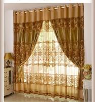 Lockerbie European-style high-grade gauze curtain yarn for living room tulle
