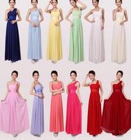 New 2014 bride wedding dress bridesmaid dresses long design one shoulder evening dress banquet dress X167