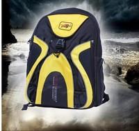 HIGH Quality  New Pro Biker Waterproof  Shoulder Motorcycle Helmet Bag Multi Purpose Yellow  Cycling Backpack Helmet Bag