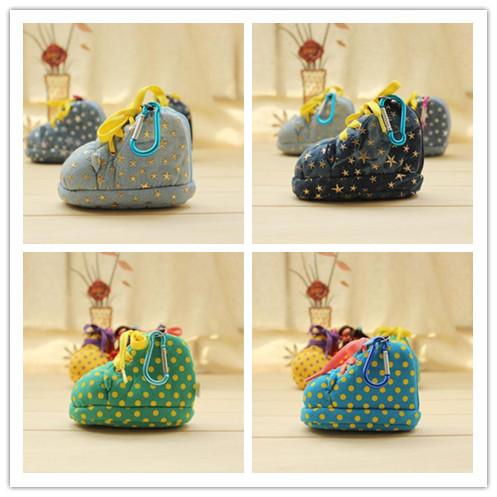bolsa da moeda kawaii zíper, bolsa sapatos moeda chaves para meninos e meninas, 23 diferentes cores para sua escolha, mochila, bolsa pequena enfeites(China (Mainland))