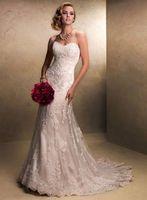 New White/ivory Lace Wedding Dress Custom Size 2-4-6-8-10-12-14-16-18-20-22+++++
