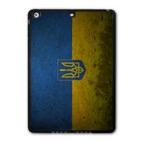 Retro Ukraine National Flag Protective Black Hard Cover Case For iPad 5 Air/iPad Mini/iPad 2 3 4(Free Shipping) P02