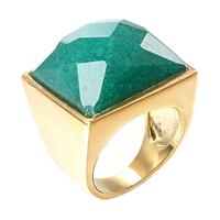 JAN-0054,  Wholesale full size Southern Africa  Fashion Jewelry New Man big stone 18K Yellow Gold Filled Wedding Ring